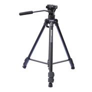 Tripode Video Benro T980ex 1.69m Cabezal Fluido C/ Bolso