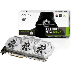 Placa Nvidia Geforce Galax Gtx 1080 Ti Hof 11gb 80iujbdhq7fz