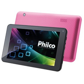 Tablet Ph7pp Rosa Com Android Philco Bivolt