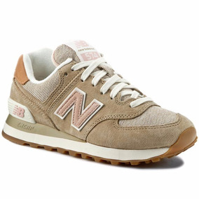 new balance mujer beige y rosa