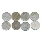 9 Decimos Primeras Monedas Del Perú Monedas 1865-1872