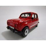 Renault 4 R4 R-4 Metalico 9cm Largo Coleccion Metalico