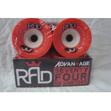 Roda Para Skate Long Board Rad 74 Mm 58 Mm No Contact 80 A