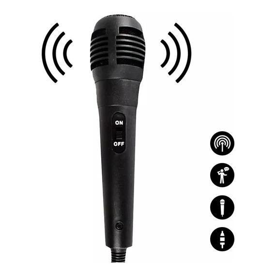 Microfono Profesional Cantar Con Cable Ideal Audio Karaoke