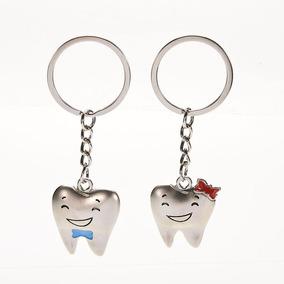 Chaveiro Par Dentes Curso Odontologia Cute Coisas