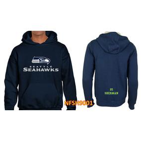Sudadera Seattle Seahawks Tipo Nfl (personalizada) Nfst9001