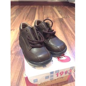 Zapatos Café Para Niño