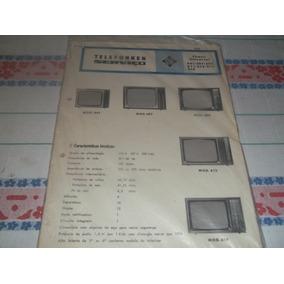 Livro Manual Técnico Tv Preto E Branco 441 A 614 Telefunken