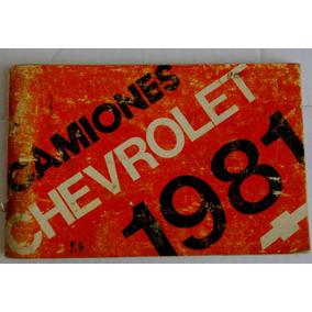 Manual De Propietario Camionetas Pick Up Y Carga Chevrolet 1