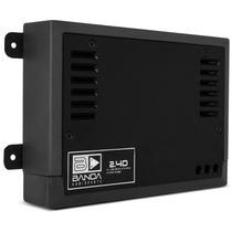 Banda 2.4d 400 Rms 4 Canais Modulo Amplificador Digital