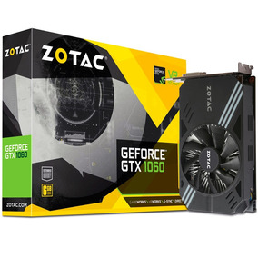 Placa De Vídeo 6gb Geforce Gtx1060 Zotac Zt-p10600a-10l