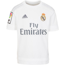 Playera Jersey Local Real Madrid 15/16 Niño Adidas S12659