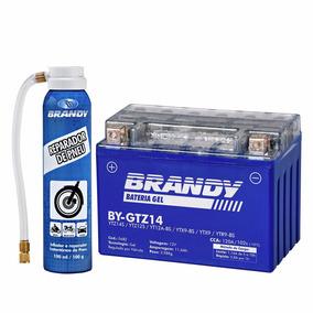 Bateria Bmw R1200 Gs 09... Gel Brandy By-gtz14 + Reparador