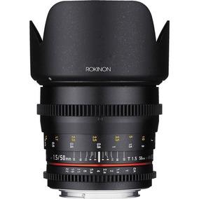 Lente Rokinon 50mm T1.5 Cine Ds Para Canon Ef | Garantia