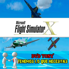 Flight Simulator X Simulador De Vuelo Español Pc Digital