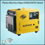 Planta Eléctrica Kipor Kde6700ta Diésel Nueva En Caja