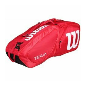 Maleta Deportiva Wilson Team Original Red 6 Pack