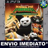 Kung Fu Panda Showdown Of Legendary - Ps3 - Mídia Digital