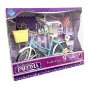 Paloma Bicicleta De Paseo Para Muñeca  Con Luz Ar1 7301