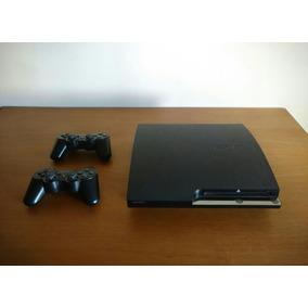 Play Station 3 Slim 360gb + 8 Juegos
