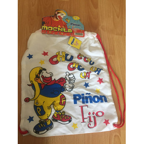 Mochila De Tela Piñon Fijo Sin Uso!