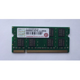 Memoria Portátil Ddr2 2gb 667/5300 Transcend Comp Mac/pc