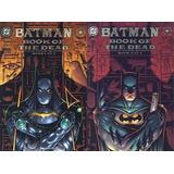 Batman, El Libro De Los Muertos. Tomo 1 Y 2 *digital*
