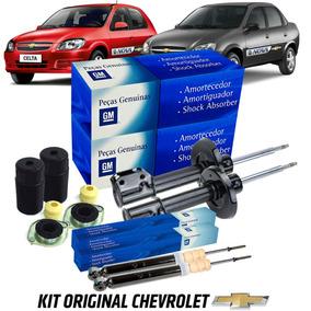Amortecedor Celta Classic Original Chevrolet Kit Completo