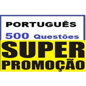 Curso 500 Questões De Português Em Vídeos
