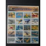 História Da Aviação - Selos Estados Unidos/1997