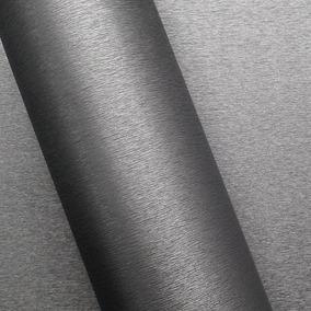 Adesivo Para Tunning Brushed Grafite 1,00 X 1,38 M