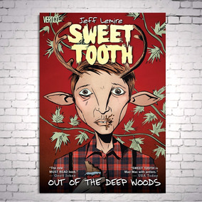 Poster Cartaz Sweet Tooth Gus A3