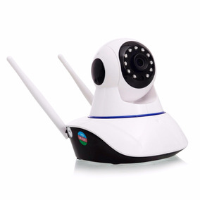 Câmera Ip Noturna 1.3 Mp Wifi 2 Antenas Hd 720p P2p