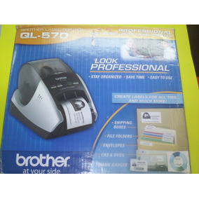 Impresora Termica Brother Ql-570 Label Printer Professional