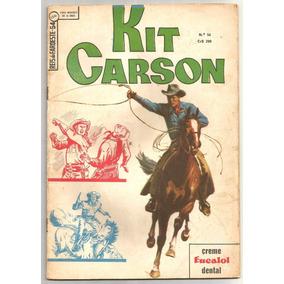 Reis Do Faroeste Nº 54 - Kit Carson - Ebal-1966 Muito Bom