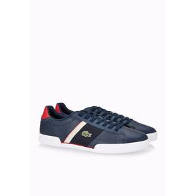 Zapatillas Lacoste Urbanas Hombre Deston Cuero/ Brand Sports