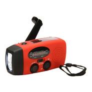 Cargador Solar Dinamo Linterna Radio Fm/am + Cable