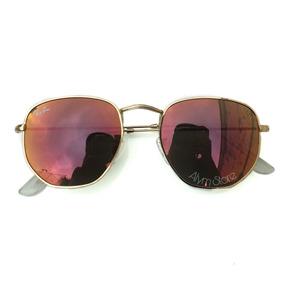 Oculo Rayban Hexagonal Vermelho - Óculos De Sol Outras Marcas no ... fa0cea7c6c