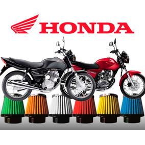 Filtro Esportivo Honda Cg Titan 150 Carburada Race Chrome