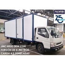Jmc N900 0km Con Furgón De 6 Metros Isopanel 5cm Full + Iva