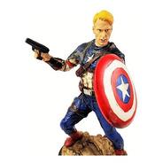 Personagem Filme Capitao America Grande Com Escudo