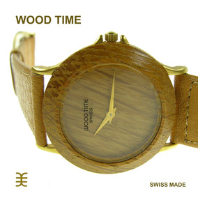 Reloj Wood Time By Jowissa - Swiss Made