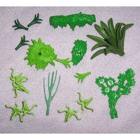 Playmobil Lote De Plantas Y Animales