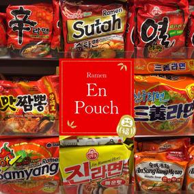 !! Ramen Coreanos En Pouch Furor Kpop Fan!