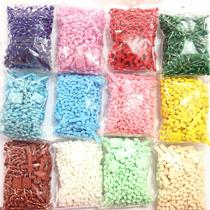 12 Terços Plásticos Naylon Rosario Colorido Pescoço Atacado