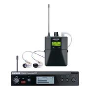 Ponto Eletrônico S/ Fio C/ Fone In-ear Psm 300 Se 215 Shure