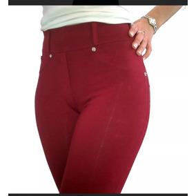 Pantalon Calza Mujer En Algodon Con Lycra Talles Del 1 Al 6