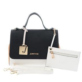 Bolsa Mujer Casual Elegante Blanco Marca Jennyfer 8027-2