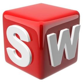 Solidwoks 2015 P/ Win 64 Bits Portugues E Ingles + Curso