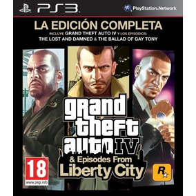 Gta Iv Grand Theft Auto 4 Ps3 Complete Edition Oferta Lider!
